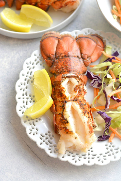 Easy 10 Minute Broiled Lobster Tail Recipe Sizzlefish