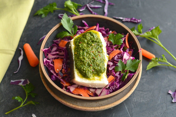 Halibut Chimichurri