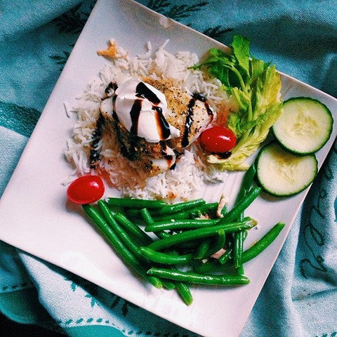 Mediterranean Baked Cod with Greek Yogurt