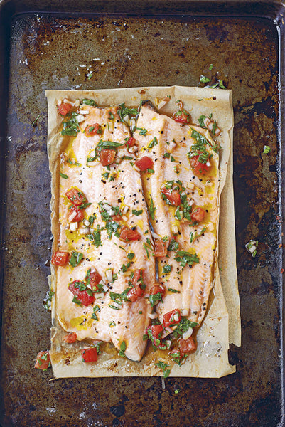 Grilled Trout With Sauce Vierge