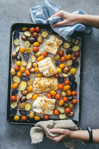one pan baked cod