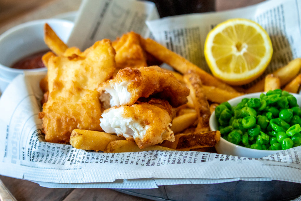 Authentic Fish & Chips Recipe