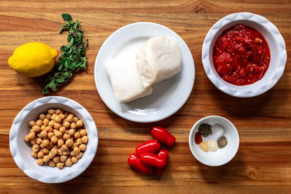 Chilean Sea Bass Ingredients