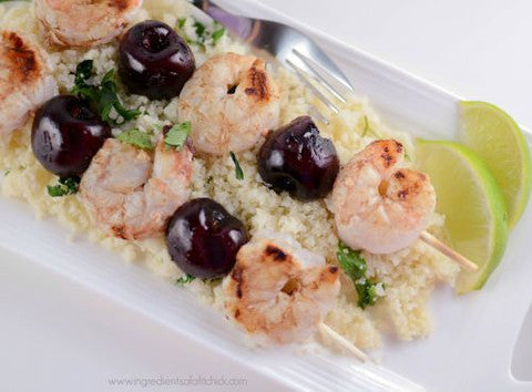 Balsamic Shrimp Skewer