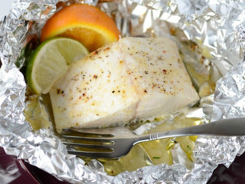 Foil Packed Buttery Sablefish Recipe
