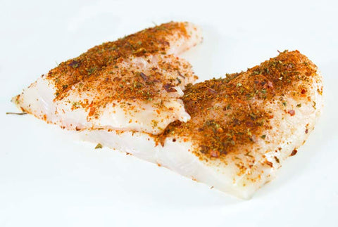Mexican seasoned raw catfish
