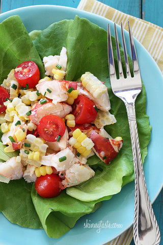 Lobster and sweet corn salad recipe