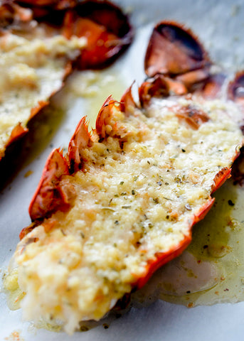 Garlic Butter Lobster Tails keto Recipe