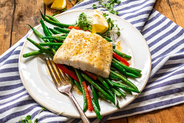 Haddock with Browned Butter
