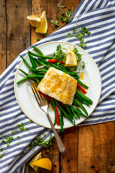 Haddock with Browned Butter Hero