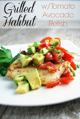 Halibut With Avocado