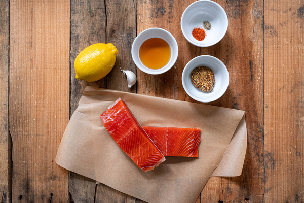 Honey Mustard Baked Salmon Ingredients
