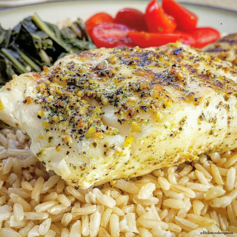 Sea Grilled Cod Recipe