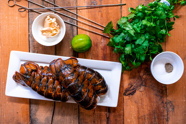 Cilantro Grilled Lobster Tails Ingredients