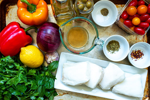 Mediterranean Sea Bass Ingredients