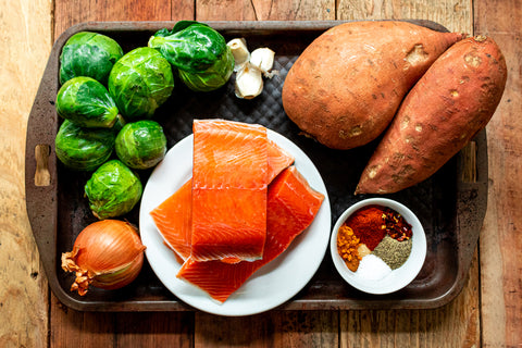 Moroccan Spiced Salmon Ingredients