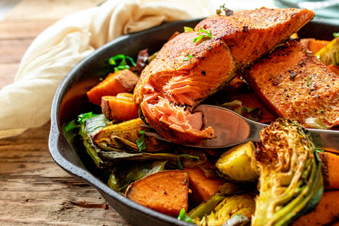 Moroccan Spiced Salmon