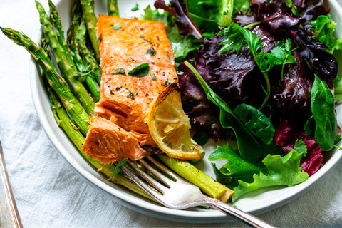 One Pan Baked Salmon