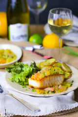 Pan Seared Halibut With Citrus