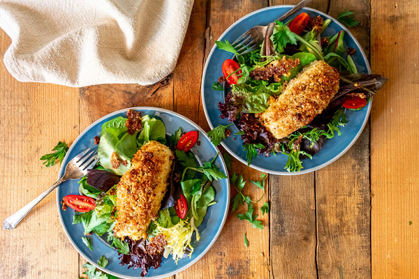 Parmesan Crusted Halibut Recipe