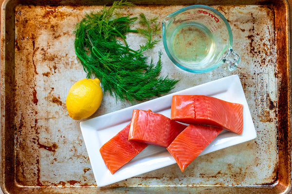 Poached Salmon Ingredients