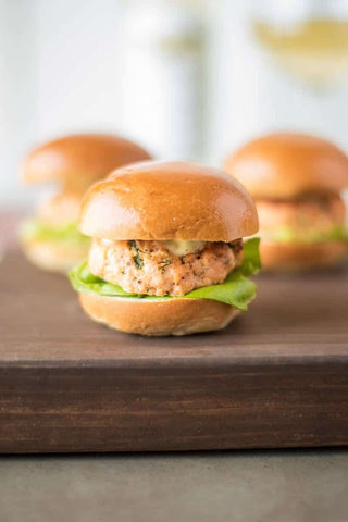 Salmon Burger Sliders Recipe