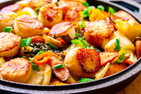 Asian Scallops and Vegetables Recipe