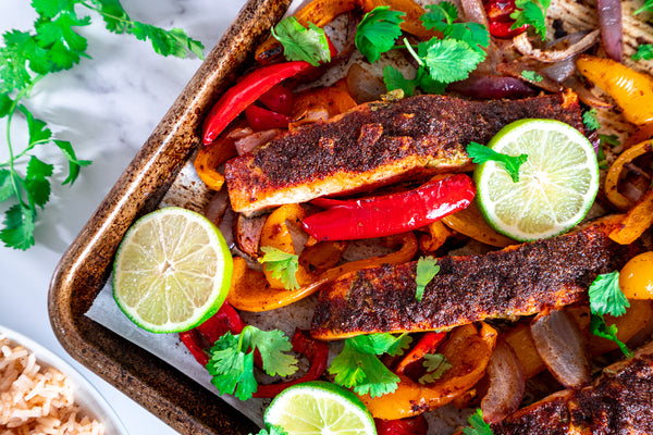 Cooked Sheet Pan Fajitas