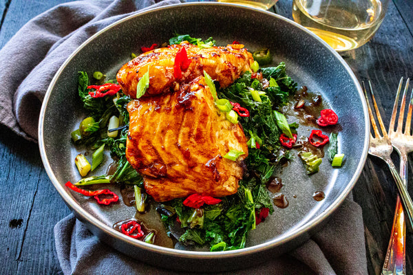 Soy Ginger Chilean Sea Bass