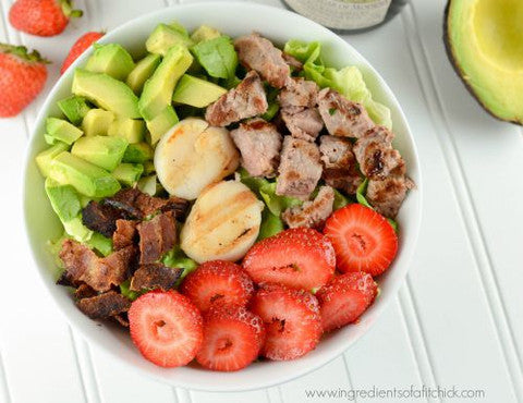 Cobb Salad With Scallops Recipe