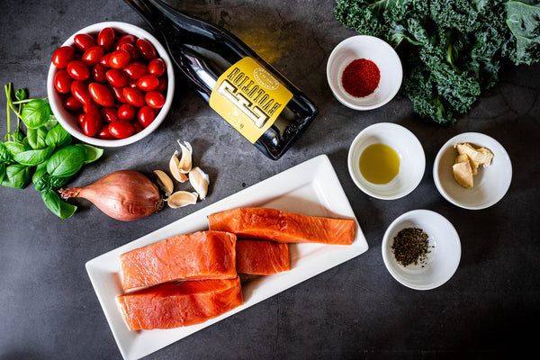 Tuscan Tomato Salmon Ingredients