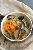 Potato Mussel Soup