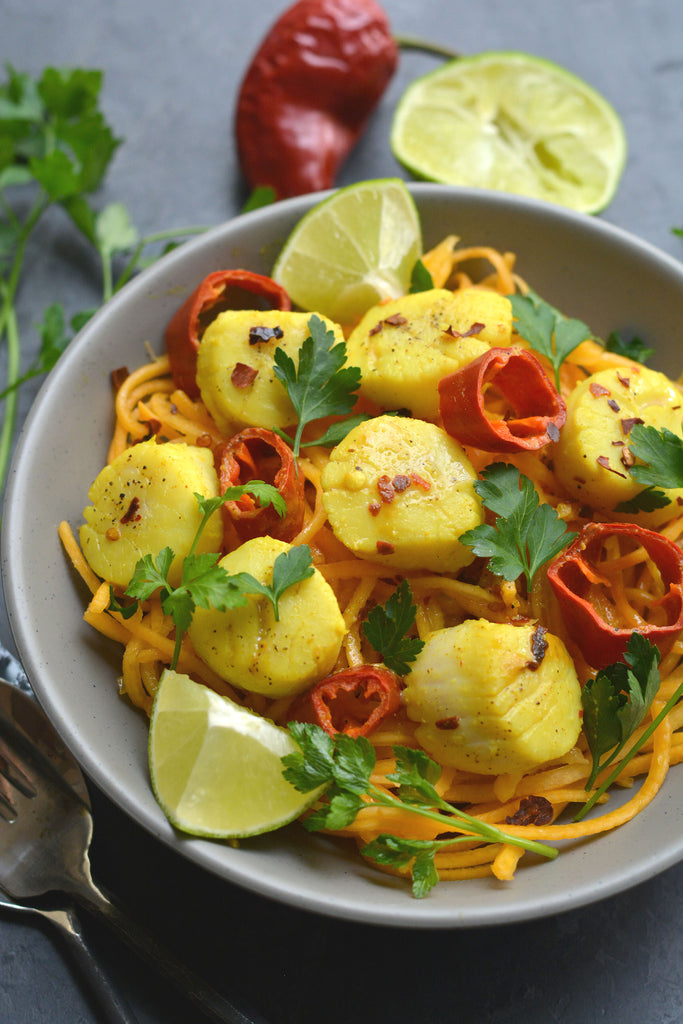 Thai Curry Scallops