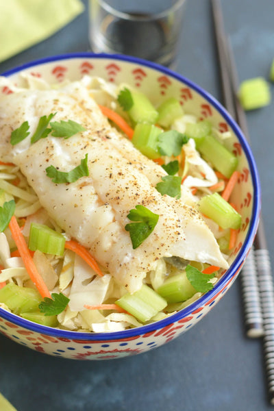 Chow Mein haddock Bowl recipe