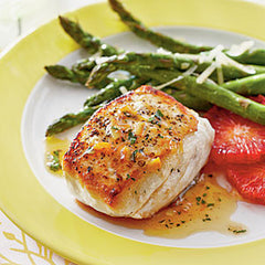 Halibut Orange Vinaigrette