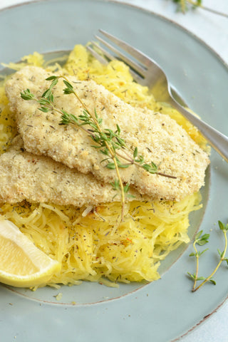 Low calorie Lemon Herb cod