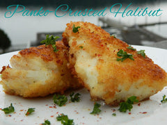 Panko Crusted Halibut