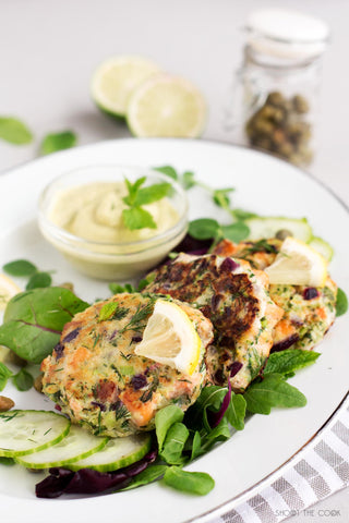Easy Salmon Burgers Recipe