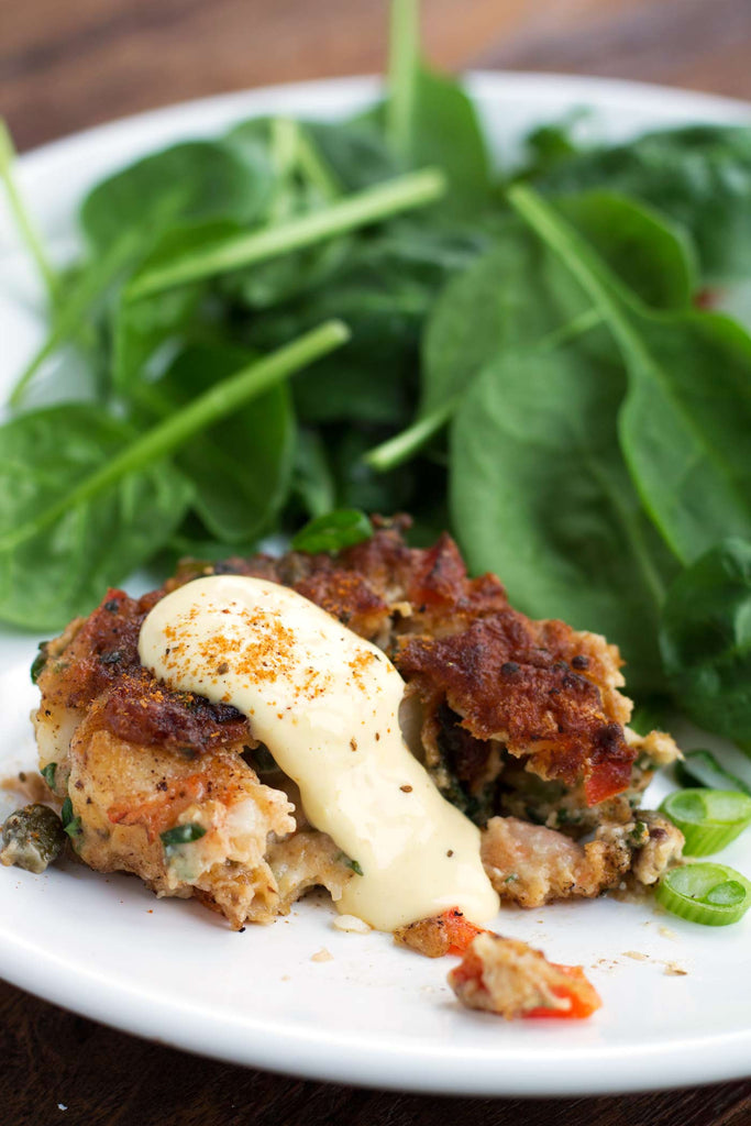 Shrimp Cakes for Whole30