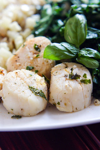 Steamed Scallops Recipe