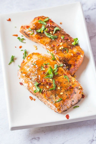 Sweet Chili Salmon Keto Recipe