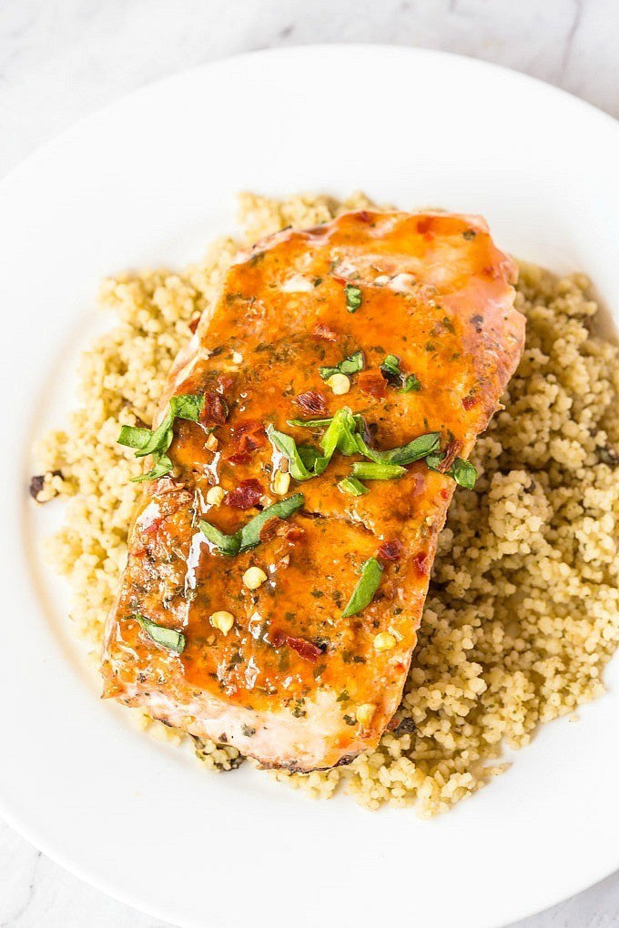 Sweet Chilli Salmon For Whole30