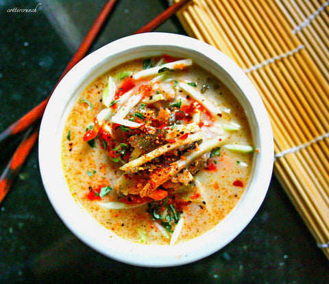 Thai Coconut Cabbage Soup Recipe