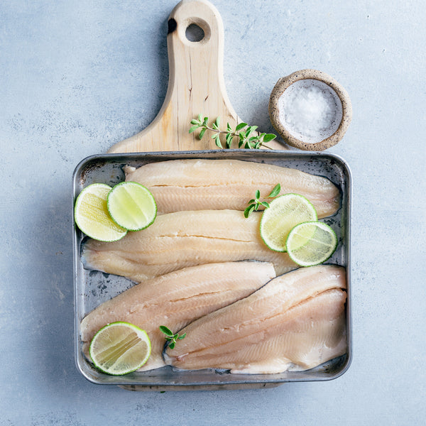 Rainbow Trout fillets with Lime
