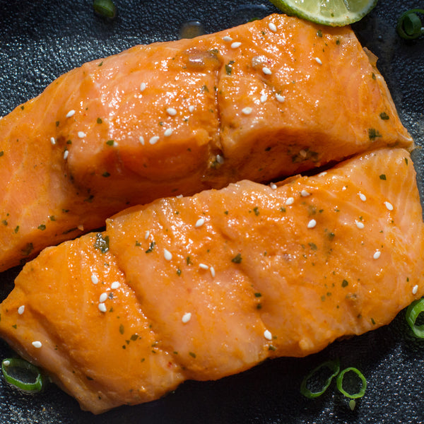 Korean BBQ Salmon