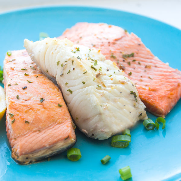 High Protein Seafood - Mix of Wild Caught Salmon & Alaskan Sablefish