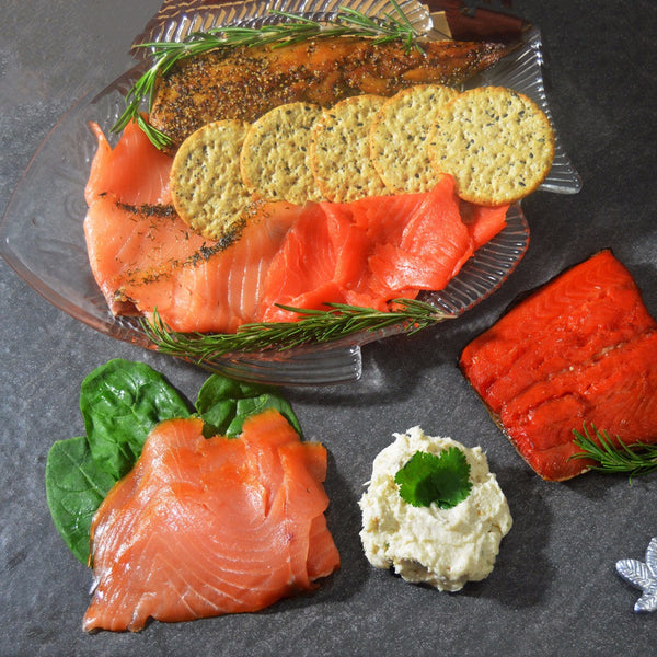 Smoked Fish - Smoked Salmon & Mackerel
