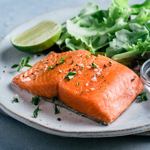 Wild Pacific King Salmon - Buy King Salmon Online - Sizzlefish