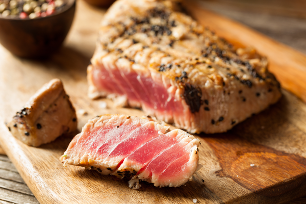 Grilled Yellowfin Tuna