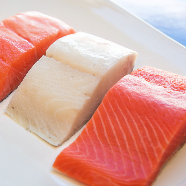 Alaskan Sockeye Salmon, North Atlantic Salmon & Sablefish